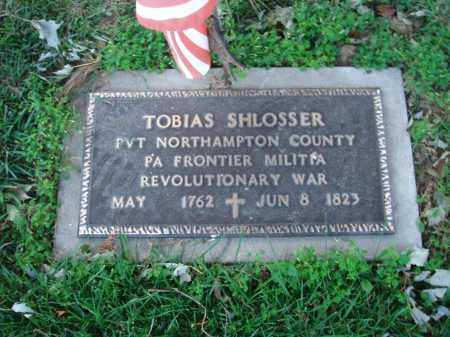 SHLOSSER, TOBIAS - Fairfield County, Ohio | TOBIAS SHLOSSER - Ohio Gravestone Photos