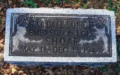SHOAF, RANDALL - Fairfield County, Ohio | RANDALL SHOAF - Ohio Gravestone Photos