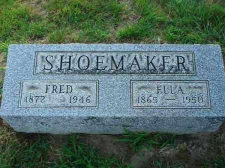 SHOEMAKER, ELLA - Fairfield County, Ohio | ELLA SHOEMAKER - Ohio Gravestone Photos
