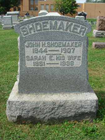 SHOEMAKER, SARAH E. - Fairfield County, Ohio | SARAH E. SHOEMAKER - Ohio Gravestone Photos