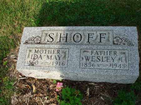 SHOFF, WESLEY I. - Fairfield County, Ohio | WESLEY I. SHOFF - Ohio Gravestone Photos