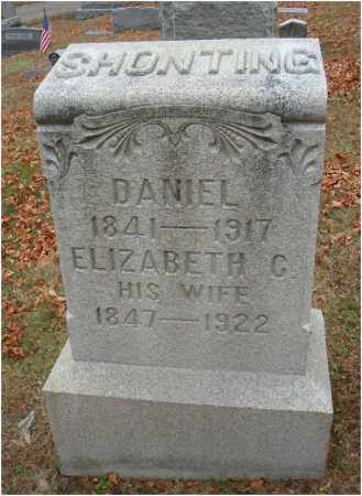 SHONTING, ELIZABETH C. - Fairfield County, Ohio | ELIZABETH C. SHONTING - Ohio Gravestone Photos