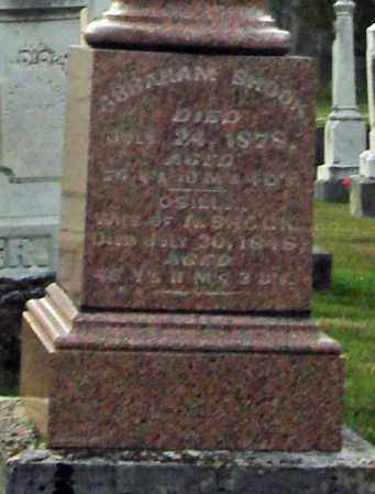 SHOOK, ABRAHAM - Fairfield County, Ohio | ABRAHAM SHOOK - Ohio Gravestone Photos
