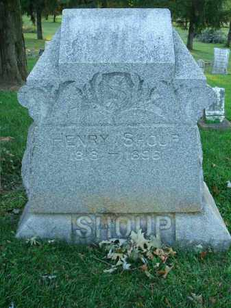 SHOUP, HENRY - Fairfield County, Ohio | HENRY SHOUP - Ohio Gravestone Photos