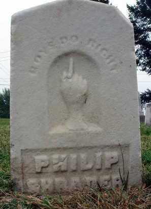 SHRADER, PHILIP - Fairfield County, Ohio | PHILIP SHRADER - Ohio Gravestone Photos