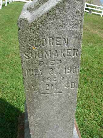 SHUMAKER, LOREN - Fairfield County, Ohio | LOREN SHUMAKER - Ohio Gravestone Photos