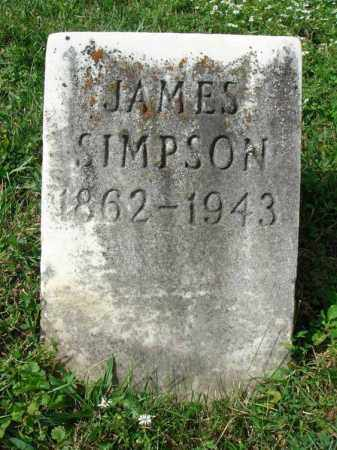 SIMPSON, JAMES - Fairfield County, Ohio | JAMES SIMPSON - Ohio Gravestone Photos