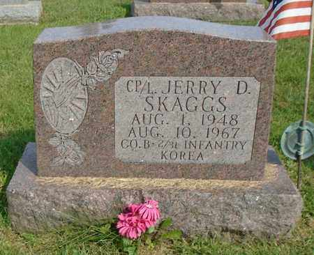 SKAGGS, JERRY D. - Fairfield County, Ohio | JERRY D. SKAGGS - Ohio Gravestone Photos