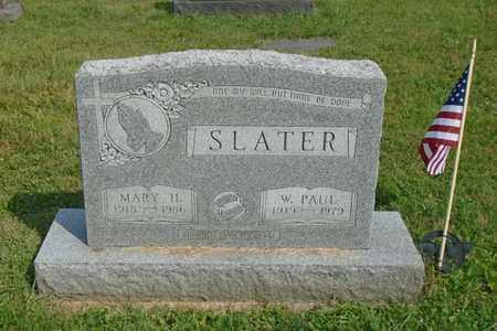 SLATER, MARY H. - Fairfield County, Ohio | MARY H. SLATER - Ohio Gravestone Photos