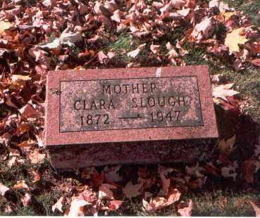 NIX SLOUGH, CLARA - Fairfield County, Ohio | CLARA NIX SLOUGH - Ohio Gravestone Photos