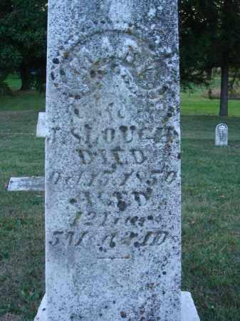SLOUGH, MARY - Fairfield County, Ohio | MARY SLOUGH - Ohio Gravestone Photos
