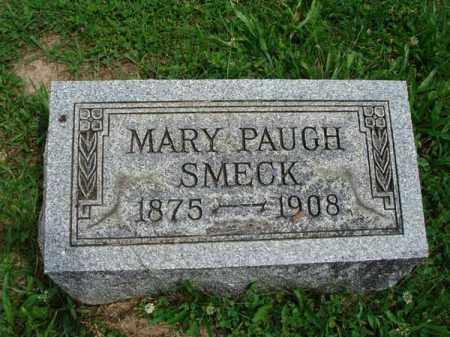 SMECK, MARY PAUGH - Fairfield County, Ohio | MARY PAUGH SMECK - Ohio Gravestone Photos