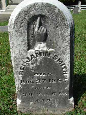 SMITH, BENJAMIN - Fairfield County, Ohio | BENJAMIN SMITH - Ohio Gravestone Photos