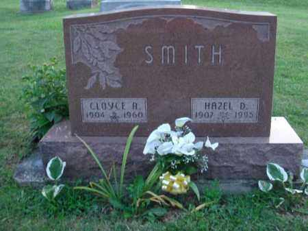 SMITH, CLOYCE A. - Fairfield County, Ohio | CLOYCE A. SMITH - Ohio Gravestone Photos