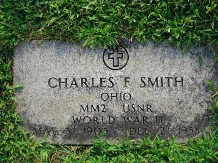 SMITH, CHARLES F. - Fairfield County, Ohio | CHARLES F. SMITH - Ohio Gravestone Photos