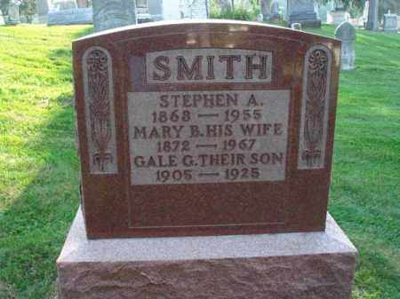 SMITH, STEPHEN A. - Fairfield County, Ohio | STEPHEN A. SMITH - Ohio Gravestone Photos