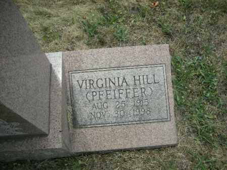 HILL SMITH, VIRGINIA - Fairfield County, Ohio | VIRGINIA HILL SMITH - Ohio Gravestone Photos