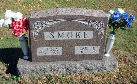 SMOKE, S. LULA - Fairfield County, Ohio | S. LULA SMOKE - Ohio Gravestone Photos