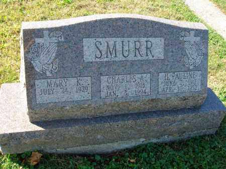 SMURR, CHARLES A. - Fairfield County, Ohio | CHARLES A. SMURR - Ohio Gravestone Photos
