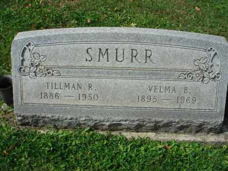 SMURR, VELMA B. - Fairfield County, Ohio | VELMA B. SMURR - Ohio Gravestone Photos