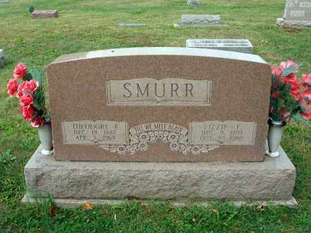 SMURR, LIZZIE F. - Fairfield County, Ohio | LIZZIE F. SMURR - Ohio Gravestone Photos