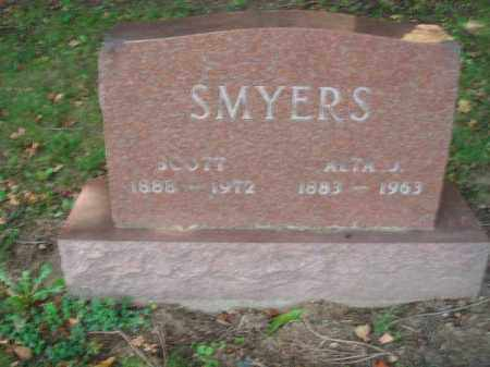 SMYERS, SCOTT - Fairfield County, Ohio | SCOTT SMYERS - Ohio Gravestone Photos