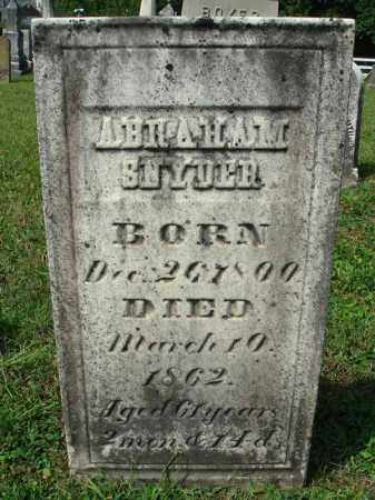 SNYDER, ABRAHAM - Fairfield County, Ohio | ABRAHAM SNYDER - Ohio Gravestone Photos