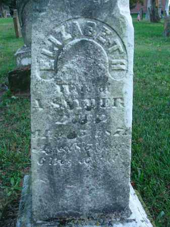SNYDER, ELIZABETH - Fairfield County, Ohio | ELIZABETH SNYDER - Ohio Gravestone Photos