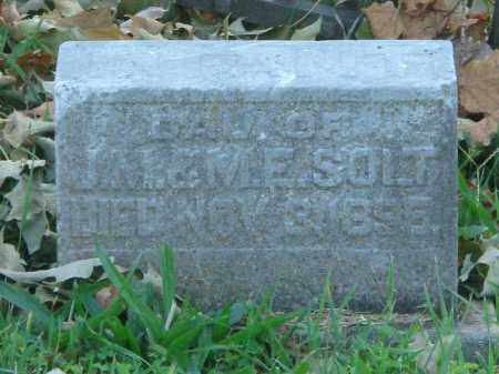 SOLT, INFANT DAU. - Fairfield County, Ohio | INFANT DAU. SOLT - Ohio Gravestone Photos