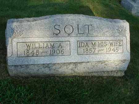 SOLT, WILLIAM A. - Fairfield County, Ohio | WILLIAM A. SOLT - Ohio Gravestone Photos