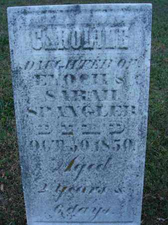 SPANGLER, CAROLINE - Fairfield County, Ohio | CAROLINE SPANGLER - Ohio Gravestone Photos