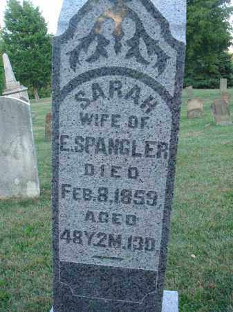 SPANGLER, SARAH - Fairfield County, Ohio | SARAH SPANGLER - Ohio Gravestone Photos