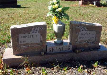 SPENCER, NANCY J. - Fairfield County, Ohio | NANCY J. SPENCER - Ohio Gravestone Photos