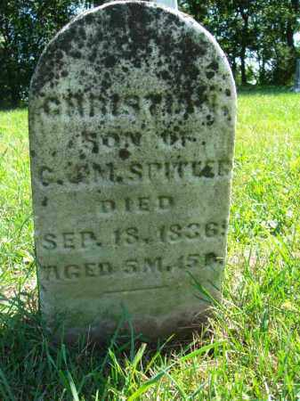 SPITLER, CHRISTIAN - Fairfield County, Ohio | CHRISTIAN SPITLER - Ohio Gravestone Photos