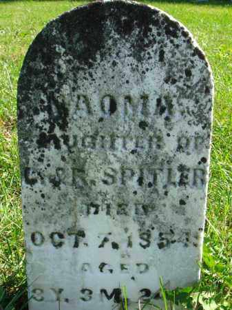 SPITLER, NAOMA - Fairfield County, Ohio | NAOMA SPITLER - Ohio Gravestone Photos