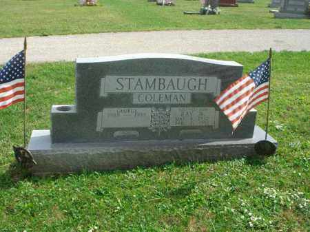 STAMBAUGH, RAY COLEMAN - Fairfield County, Ohio | RAY COLEMAN STAMBAUGH - Ohio Gravestone Photos