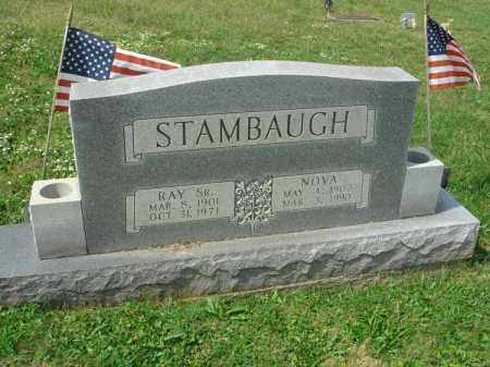 STAMBAUGH, NOVA - Fairfield County, Ohio | NOVA STAMBAUGH - Ohio Gravestone Photos