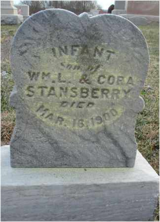 STANSBERRY, INFANT SON - Fairfield County, Ohio | INFANT SON STANSBERRY - Ohio Gravestone Photos