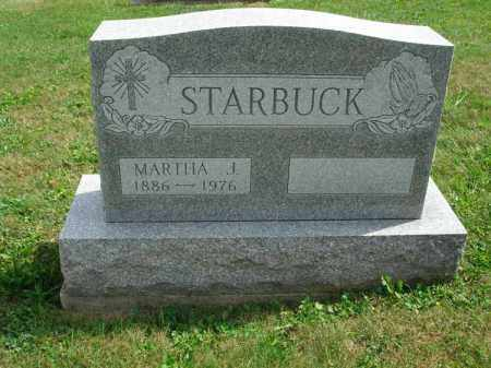 STARBUCK, MARTHA J. - Fairfield County, Ohio | MARTHA J. STARBUCK - Ohio Gravestone Photos