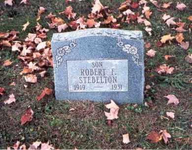 STEBELTON, ROBERT F. - Fairfield County, Ohio | ROBERT F. STEBELTON - Ohio Gravestone Photos