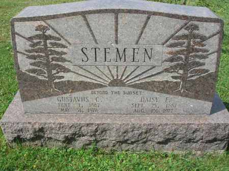 STEMEN, GUSTAVUS C. - Fairfield County, Ohio | GUSTAVUS C. STEMEN - Ohio Gravestone Photos