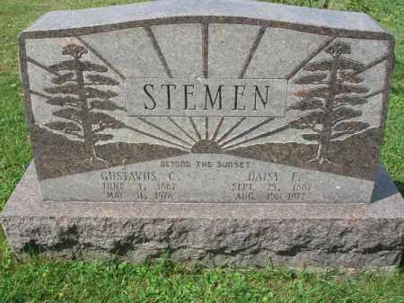 STEMEN, DAISY E. - Fairfield County, Ohio | DAISY E. STEMEN - Ohio Gravestone Photos