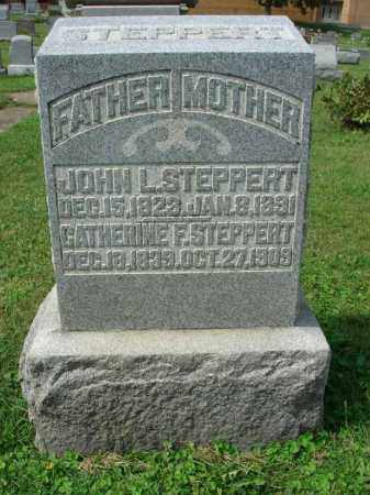 STEPPERT, CATHERINE F. - Fairfield County, Ohio | CATHERINE F. STEPPERT - Ohio Gravestone Photos