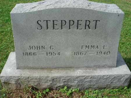 STEPPERT, JOHN G. - Fairfield County, Ohio | JOHN G. STEPPERT - Ohio Gravestone Photos