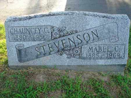STEVENSON, CHAUNCEY C. - Fairfield County, Ohio | CHAUNCEY C. STEVENSON - Ohio Gravestone Photos