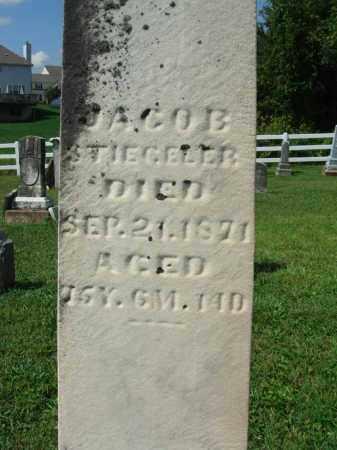 STIEGELER, JACOB - Fairfield County, Ohio | JACOB STIEGELER - Ohio Gravestone Photos