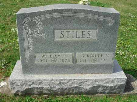 STILES, WILLIAM I. - Fairfield County, Ohio | WILLIAM I. STILES - Ohio Gravestone Photos