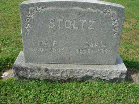 STOLTZ, IDA F. - Fairfield County, Ohio | IDA F. STOLTZ - Ohio Gravestone Photos