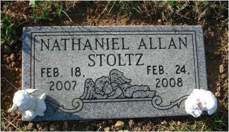STOLTZ, NATHANIEL ALLEN - Fairfield County, Ohio | NATHANIEL ALLEN STOLTZ - Ohio Gravestone Photos