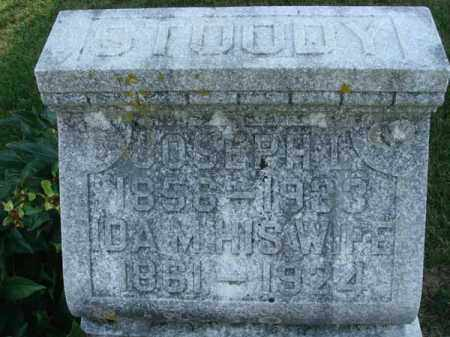 STOODY, JOSEPH L. - Fairfield County, Ohio | JOSEPH L. STOODY - Ohio Gravestone Photos
